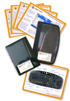 Image showing joining pack including sheet guides, cd holder, notebook and mousemat